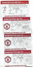 MANCHESTER UNITED V WEST BROMWICH ALBION TICKET 22-2-1986