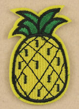 cartoon pineapple Fruit plants Embroidered Patch iron/sew on bag badge Fabric