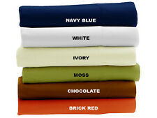 USA FULL SIZE 1000TC 100% COTTON BEDDING COLLECTION CHOOSE DESIRED COLOR & SET D