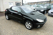 Peugeot 206 1.6 Coupe Cabriolet S 2002 MODEL +STUNNING VALUE CONVERTIBLE+