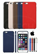 Apple iPhone 6S (4.7 inch) Leather Hard Back Case Cover with SP & Stylus Pen