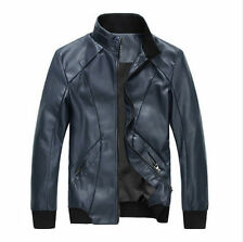 lamskin Leather Jacket sport bike Jacket new fashion style Biker Jacket all size