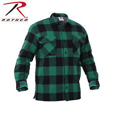 Rothco Extra Heavyweight Buffalo Plaid Sherpa-lined Flannel Shirts - 3737