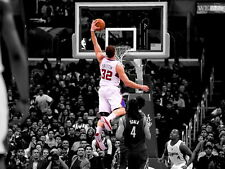 Blake Griffin Dunk Clippers Basketball NBA Wall Print POSTER