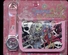 Monster High Draculaura Watch & Purse Child Girl Watch Fashion Set  Choose style