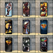 Spiderman Superman Harley Quinn Joker Batman case for iPhone 4s 5/5s/5c 6/6+/6s
