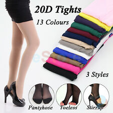 20D Sexy Womens Ladies Tights Pantyhose Stirrup Stocking Party Spring Summer NEW