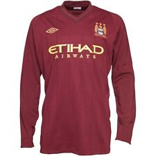 Umbro Mens MCFC Manchester City Away FC Football Jersey t-shirt size XXL XL L