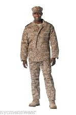 DESERT DIGITAL CAMOUFLAGE MILITARY M-65 FIELD JACKET ARMY COAT