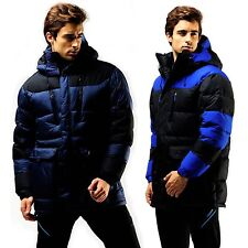 FUERZA Mens Winter Down Wellon Special Collection Hooded Warm Parka Jacket Coat
