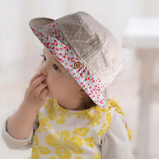 Children Girls Boys Sun Hats Summer Caps Bucket Baby Kids UPF 50 Visor Cap