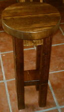 New Hand Made Rustic Solid Wooden Stool/Bar Stool