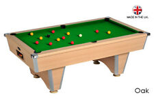 6ft-7ft Elite Slate Bed Pub Style Pool Table -  Free Delivery to most of uk