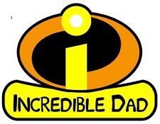 Incredibles DAD Iron On T Shirt Fabric Transfer #20