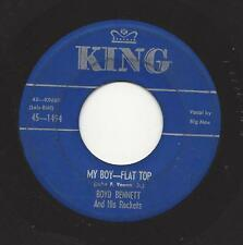 BOYD BENNETT - MY BOY FLAT TOP -50'S KING ROCKABILLY 45