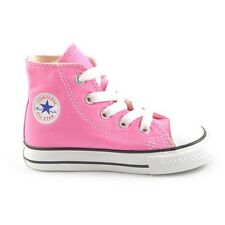 Converse Star Hi Top Pink White Infant Toddler Boys Girls Shoes Size 2-10