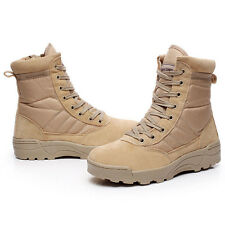 Commando desert combat army boots outdoor high-top leather shoes Martin tooling