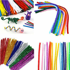 "Pipe Cleaners Chenille Craft Stems 30cm 12"" Lots of Colours to choose"