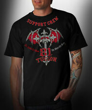 "Hells Angels Tucson - ""The Redder the Blood"" - Black 81 Support T-Shirt (S-M)"