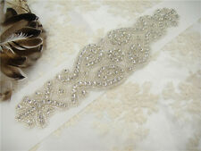 Gorgeous Wedding Sash Crystal Bridal Belt Wedding Accessories Beaded Waistband