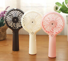 Mini Humidifier Mist Water Spray Air Conditioning Moisturizing Rechargeable Fan