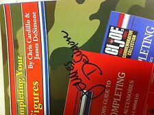 2014-GIJOE Collector Guide HAND SIGNED by James DeSimone Book 2 in 1