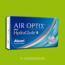 »» AIR OPTIX PLUS HYDRAGLYDE 1x6 KONTAKTLINSEN MONATSLINSEN ALCON -/+ WERTE ««