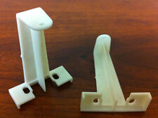 Rollease Shade Stop Brackets For Roman or Woven Wood Shades Free Shipping USA