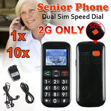 Dual Sim Senior Citizen Big Large Buttons SOS Calling Elderly Cell Mobile Phone