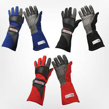 G-Force Racing 4105 - GF Pro Series Gloves - Red, Blue & Black  SFI 3.3/5 Rated
