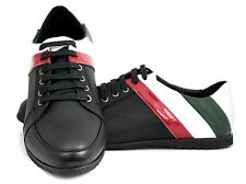 Mens Lace Up Trainers Casual Fashion Sport Designer Italian Shoes UK Size 6-11