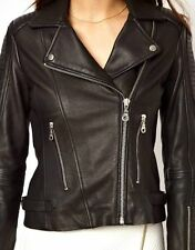 NEW Womens 100% Leather Lambskin Jacket Coat, Made to your Measurements - WJ88