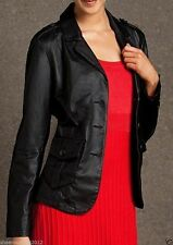 NEW Womens 100% Leather Lambskin Jacket Coat, Made to your Measurements - WJ120