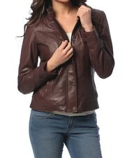 NEW Womens 100% Leather Lambskin Jacket Coat, Made to your Measurements - WJ158