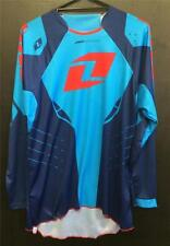 NEW ONE INDUSTRIES DEFCON JERSEY - MX * BMX - NAVY - ADULT LARGE - OFF ROAD GEAR