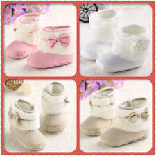 Newborn Bebe Toddler Soft Sole Winter Boots Girl Baby Walker Crib Shoes 3 Size#