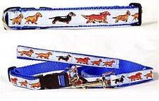 Dog Ink NEW US Made Leash/Collar Set or Leash Only - Dachshund