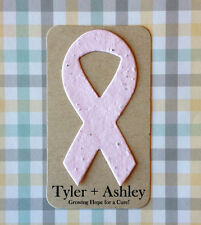 Awareness Ribbon Plantable Paper Mini Party Shower Wake Favors - Set of 16