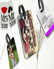 Personalised fully Printed luggage tag suitcase - SUITCASE TAG 1 tag per order