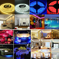 Hot 5050 SMD Bright Colour Non/Waterproof Flexible LED Strip Light/Remote/Power