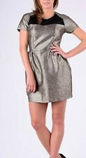"NEW Black and Gold Metallic JORGE ""Midnight"" Party Dress SIZE 10 & 12 RRP $89.95"
