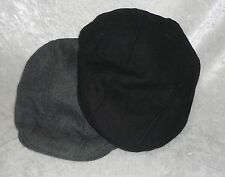 Dockers mens earflap ivy cap polyester wool hat solid size S-M NEW