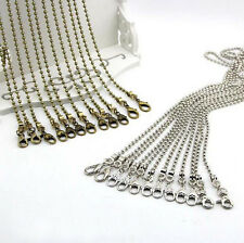 New 48 ~ 118 CM Bead Metal Chain for Handbag or Shoulder bag purse or Sewing #55