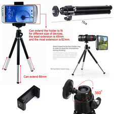 Phone Mobile 360° Mini Tripod Stand Holder For Phone & Camera Sony HTC Nokia