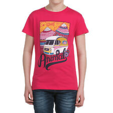 SALE/REDUCED *BNWT* Animal Girls Addor Graphic T-Shirt - Pomegranate Red