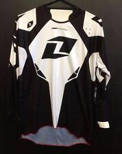 NEW ONE INDUSTRIES DEFCON JERSEY - MX * BMX * MTB - BLACK - ADULT SMALL - RACING