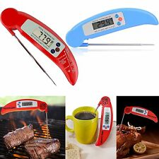 Instant Read Digital Electronic Barbecue Food Cooking Fast BBQ Meat Thermometer
