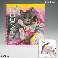 Depesche CREATE YOUR TOPMODEL Kitty COLOURING BOOK TOP MODEL 6671