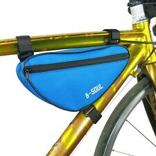 Outdoor Bike Front Tube Bag Bicycle Frame Triangle Pannier Cycling Saddle Pouch