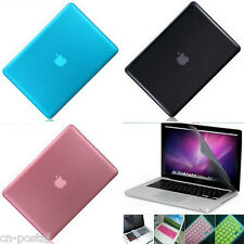 Glossy Crystal Hard Case Cover Screen Protector 3in1 MacBook Pro 13 A1278 CD-ROM
